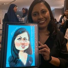 CARICATURE ARTIST MALAYSIA