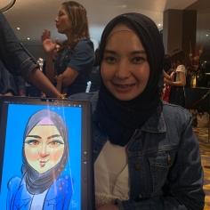 IPAD CARICATURE ARTIST MALAYSIA