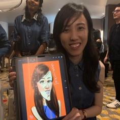 NO.1 DIGITAL CARICATURE ARTIST IN MALAYSIA