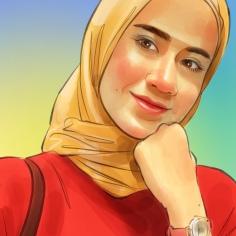 Lukisan Potret Nurhayati Tahir