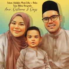 Tempahan Potret Keluarga Online Malaysia