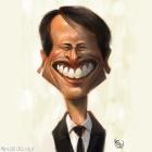 Karikatur Digital Amerul Affendi Pelakon Malaysia.