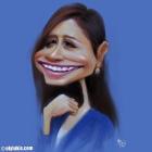 Lukisan Karikatur Digital Ayda Jebat