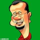 Caricature of Singaporean Cartoonist, Mat Tocang.