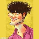 Caricature of Kim Jong Kook