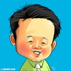 Caricature of Mok Matsuru